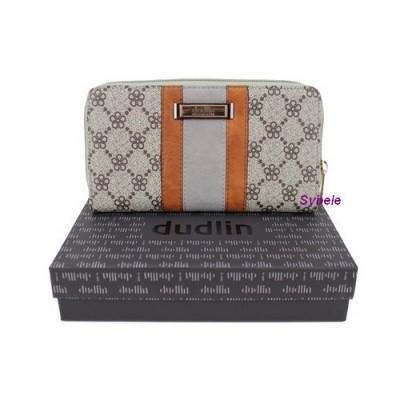 Porte monnaie kaki avec boite cadeau